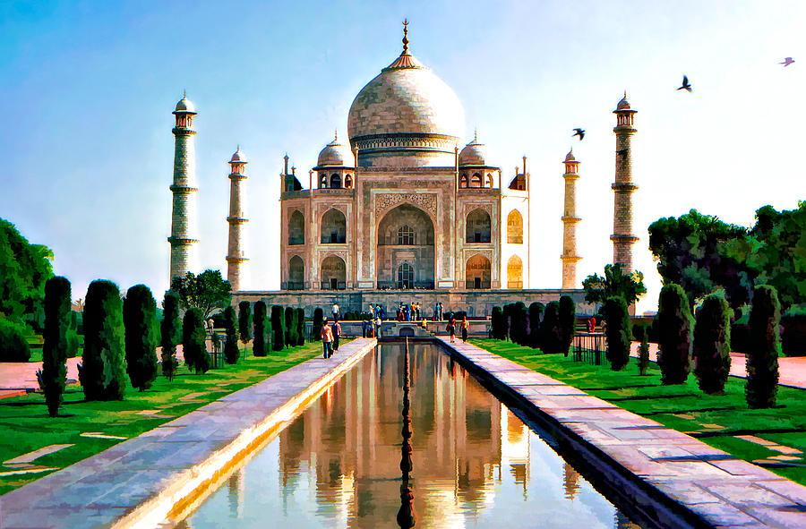 Taj Photograph - To Love... by Steve Harrington