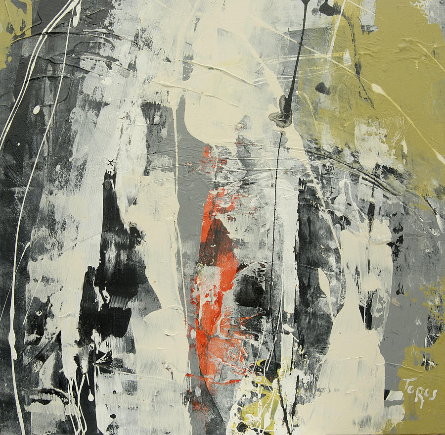 Abstract Painting - To Search For... by Thorsten Frank