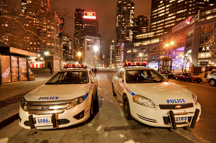 Nypd Photograph - To Serve And Protect by Evelina Kremsdorf