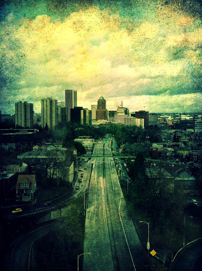 City Photograph - To The City by Cathie Tyler