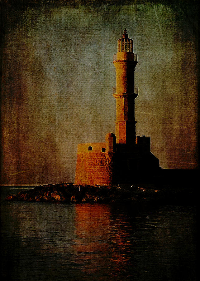 Lighthouse Digital Art - To The Lighthouse by Sarah Vernon