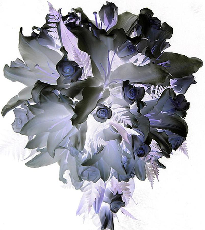 Flowers Digital Art - To The Love Of Life II by Robert Martin