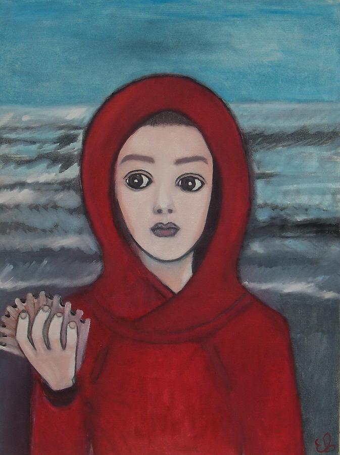 Portrait Painting - To The Pacific Ocean by Elena Buftea