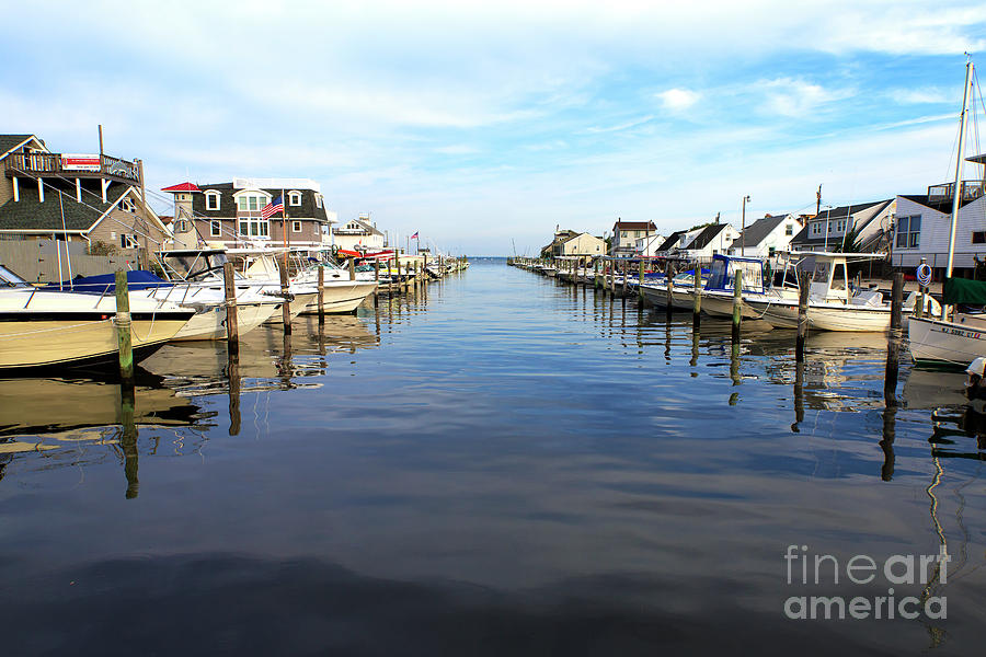 Bay Photograph - To The Sea At Lbi by John Rizzuto