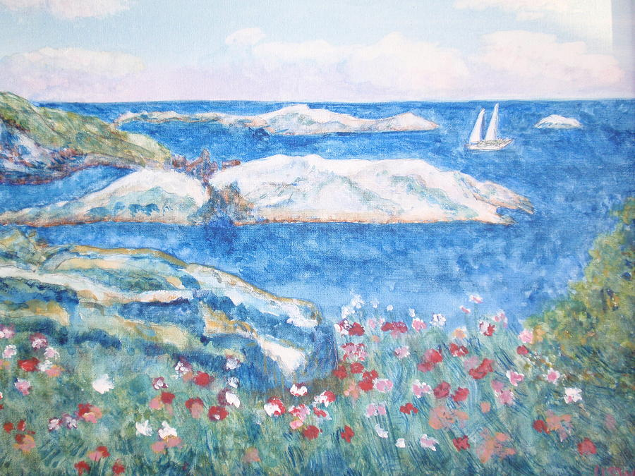 Sea Digital Art - To The Shoals by Ursula Wright