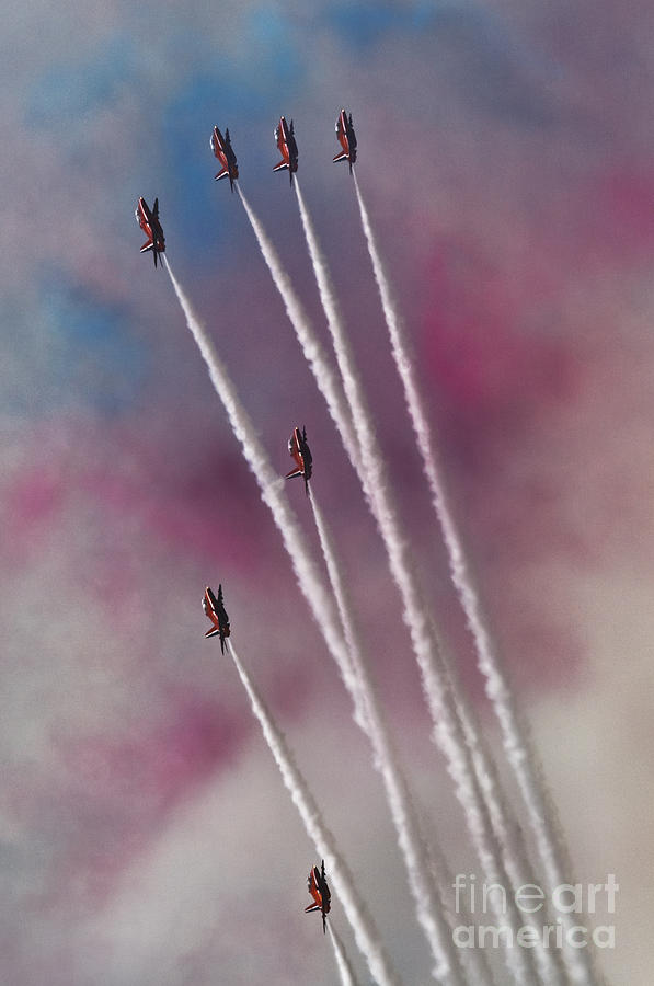 Airshow Photograph - To The Sky by Angel Ciesniarska