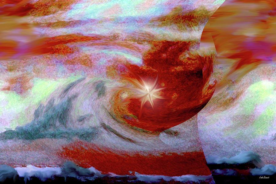 Stars Digital Art - To The Stars by Linda Sannuti