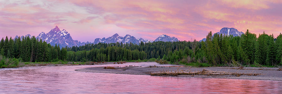 To the Tetons by Ryan Moyer