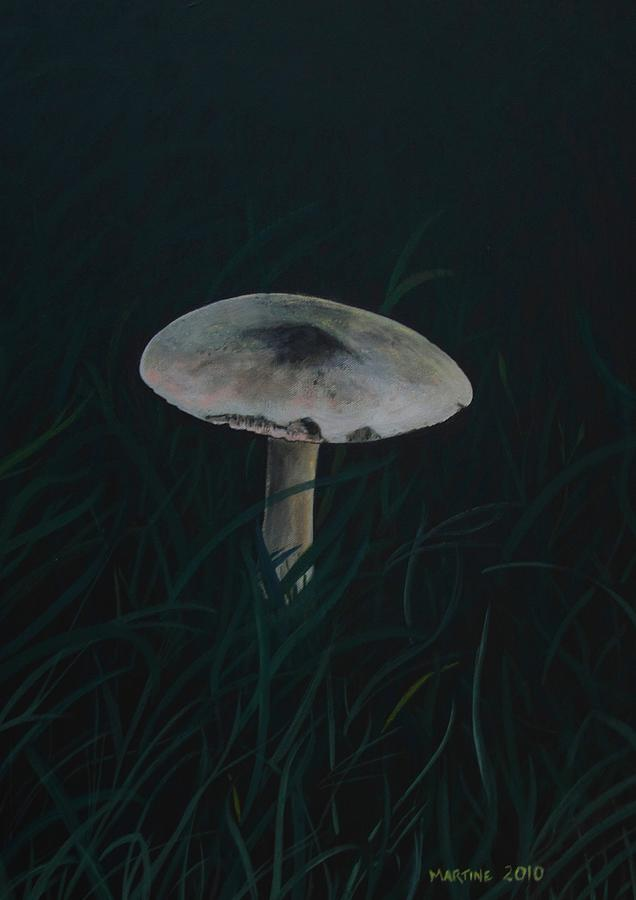 Fantasy Painting - Toadstool by Martine Murphy