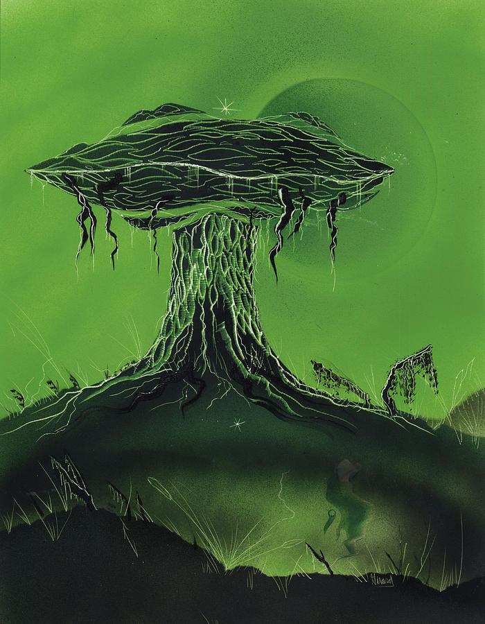 Fungi Painting - Toadstool Taboo by Jason Girard