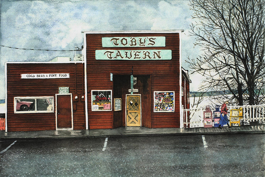 Toby Painting - Tobys by Perry Woodfin