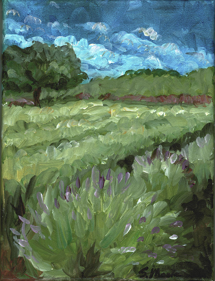 Landscape Painting - Today by Susan Moore