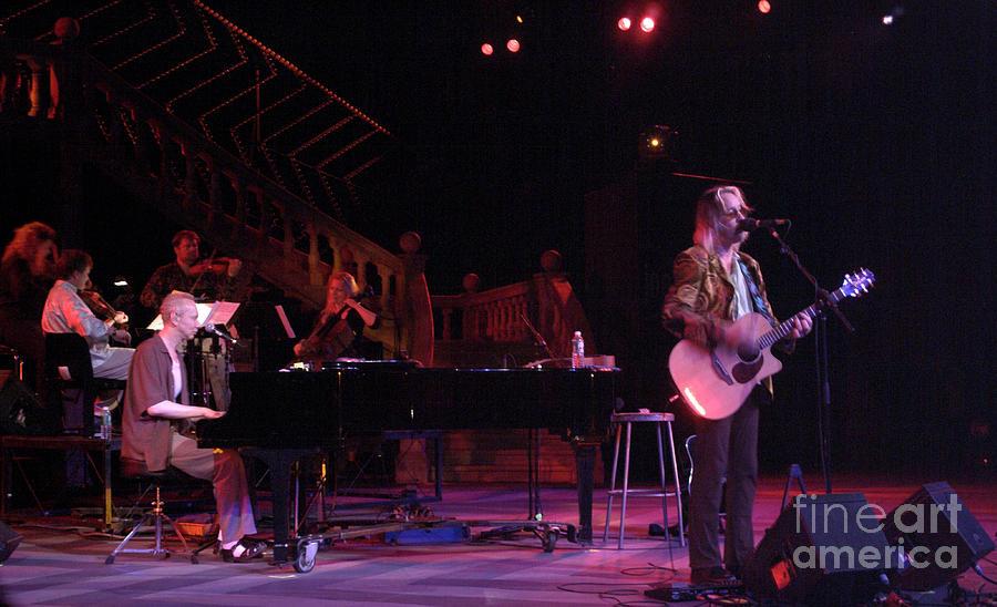 Todd Rundgren, Joe Jackson and Ethel by J Bloomrosen