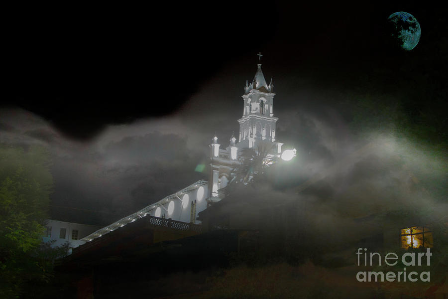 Fog Photograph - Todos Santos In The Fog by Al Bourassa