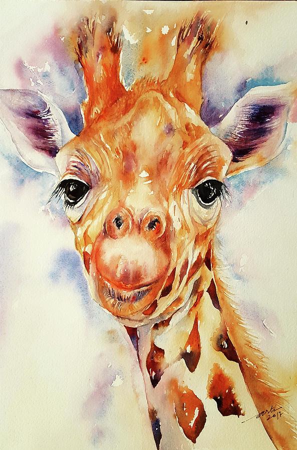 Toffee Giraffe by Arti Chauhan