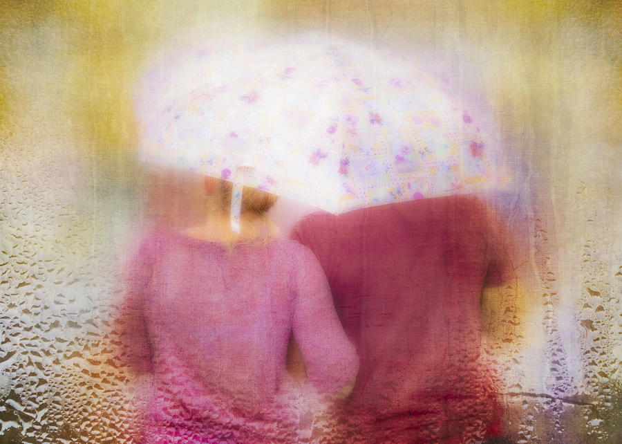 Together In The Rain Photograph