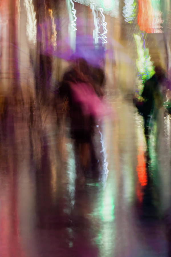 Couple Photograph -  Together Under An Umbrella by Svetlana Iso