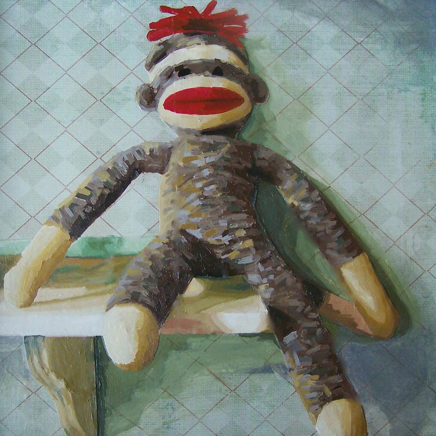 Monkey Painting - Toggl by Chelsie Brady