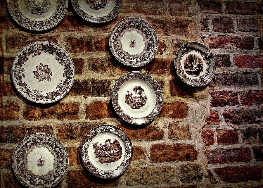 Plate Photograph - Tiole Plates by JAMART Photography