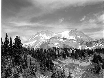 Mountain Landscape Photograph - Tokaloo by Paul Schaufler