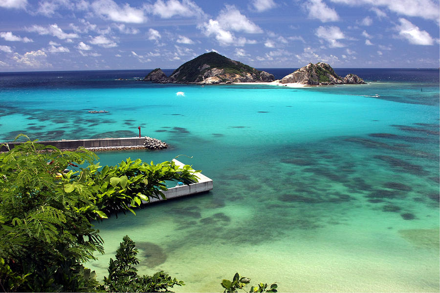 Okinawa Photograph - Tokashiki Island - Okinawa by Francois Cantin