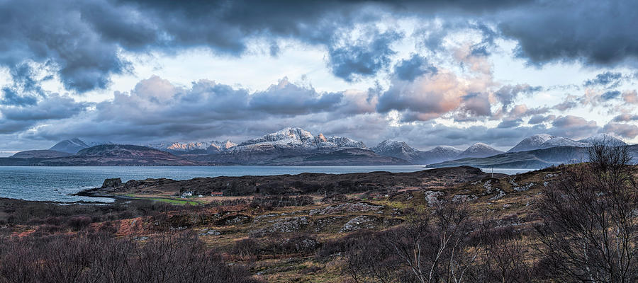 Morning Photograph - Tokavaig by Mike Herdering