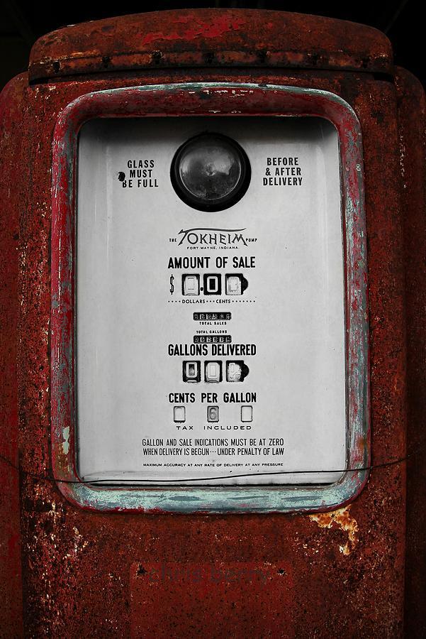 Tokheim Gas Pump by Chris Berry