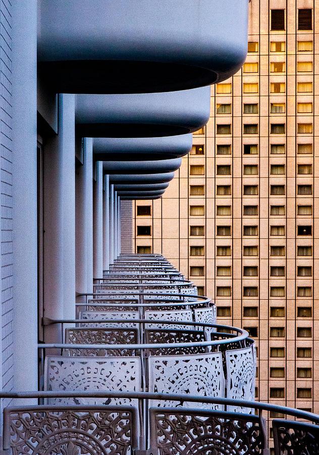Balcony Photograph - Tokyo Balconies by Jay Heiser