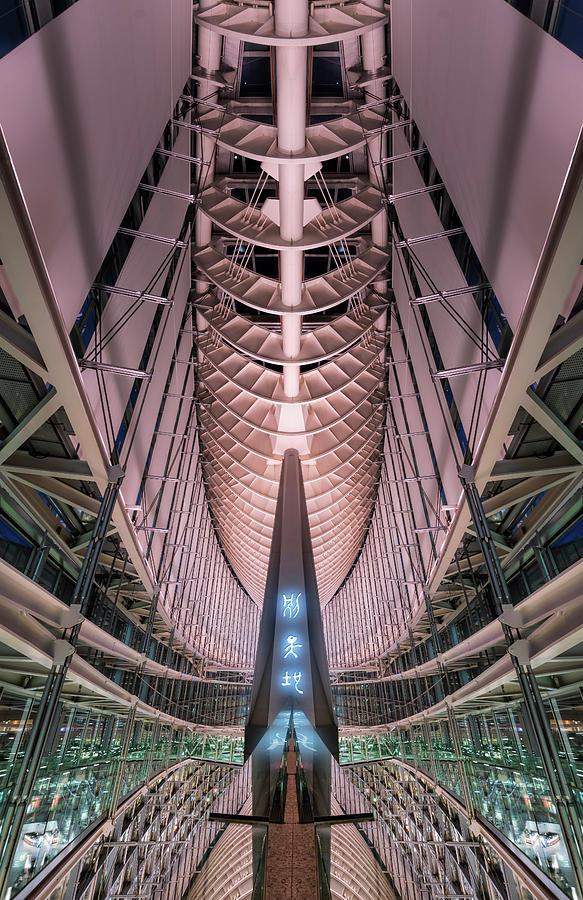 Tokyo in space by Ponte Ryuurui