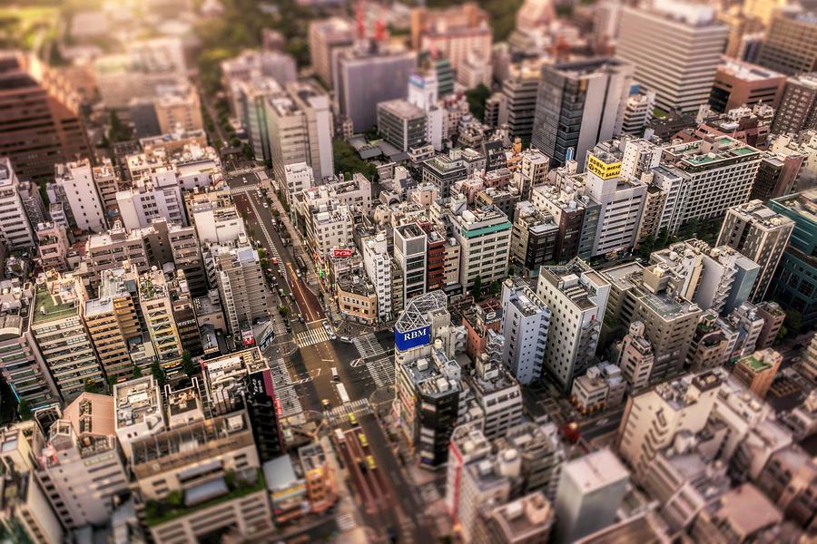 Tokyo minature by Ponte Ryuurui