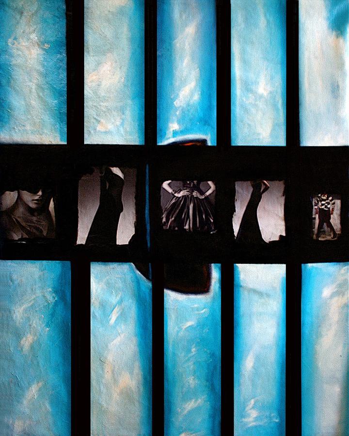 Blue Painting - Tokyo-vogue Series by Vel Verrept
