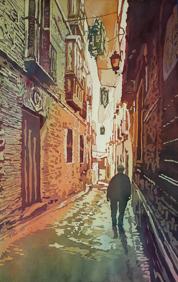 Europe Painting - Toledo Morning by Jenny Armitage