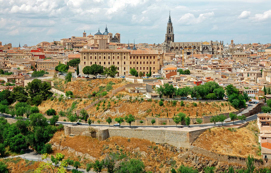 Overview Photograph - Toledo Spain by Sally Weigand