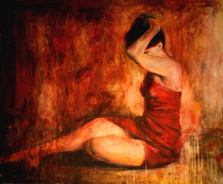 Nude Painting - Tollerante by Escha Van den bogerd