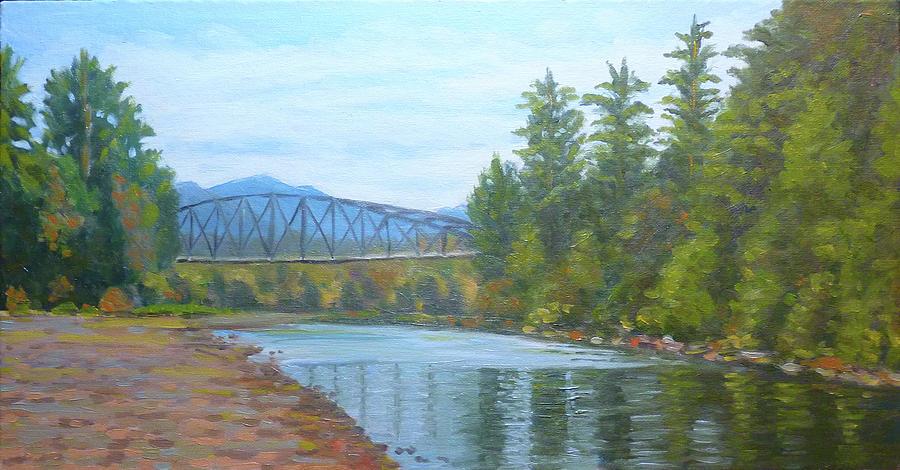 Tolt River Bridge by Stan Chraminski