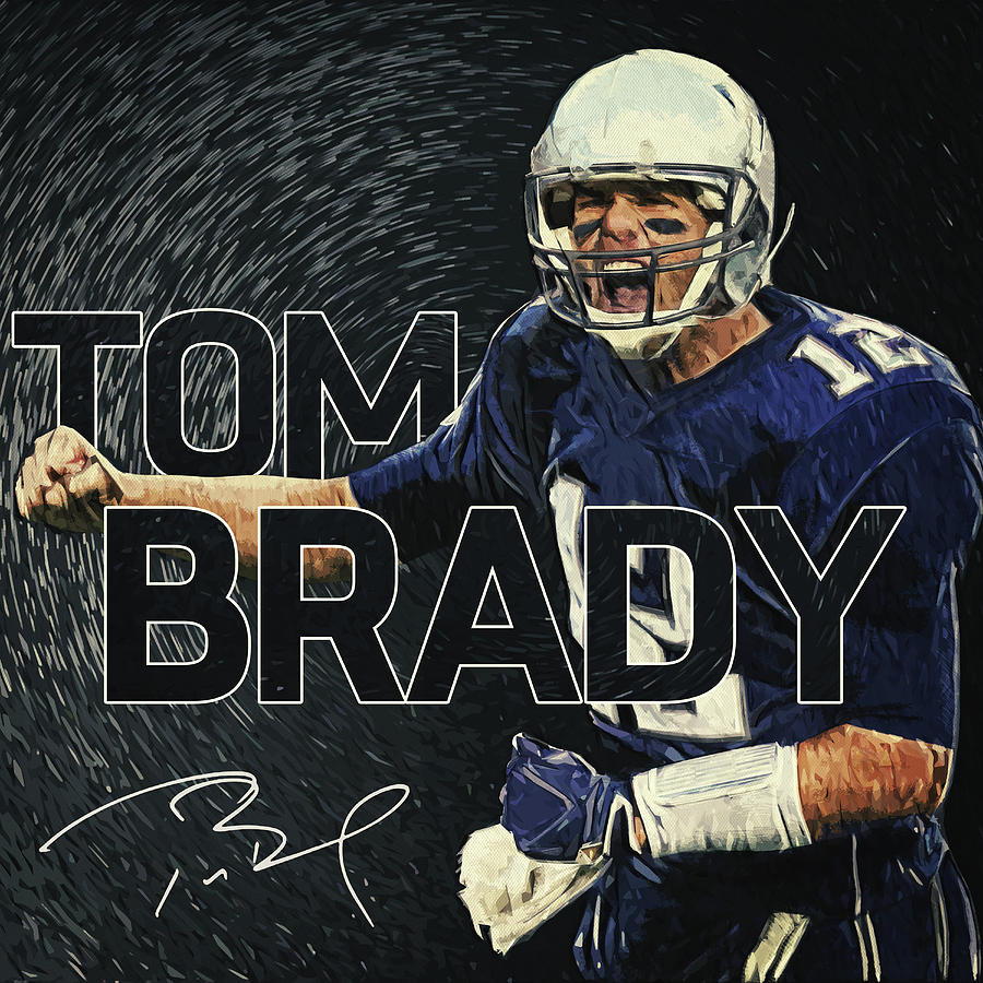 Tom Brady Digital Art