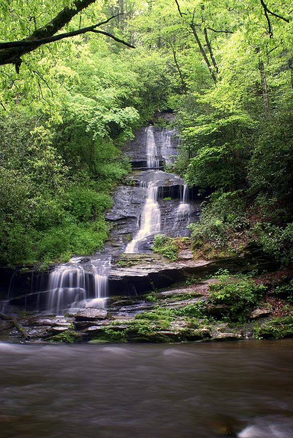 Waterfalls Photograph - Tom Branch Falls by Marty Koch