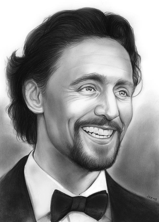 Tom Hiddleston Drawing