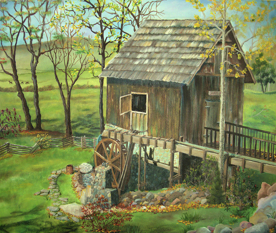 Tom Lott's Mill in Georgia by Nicole Angell