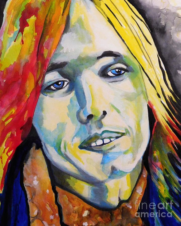 Tom Petty  by Chrisann Ellis