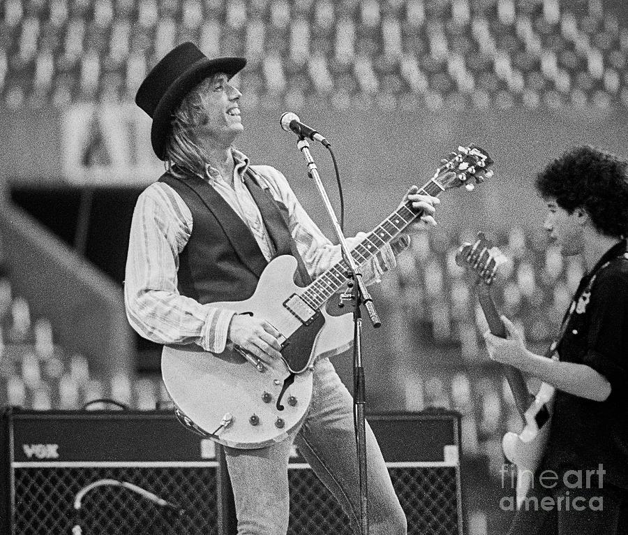 Tom Petty Photograph - Tom Petty by Chuck Spang