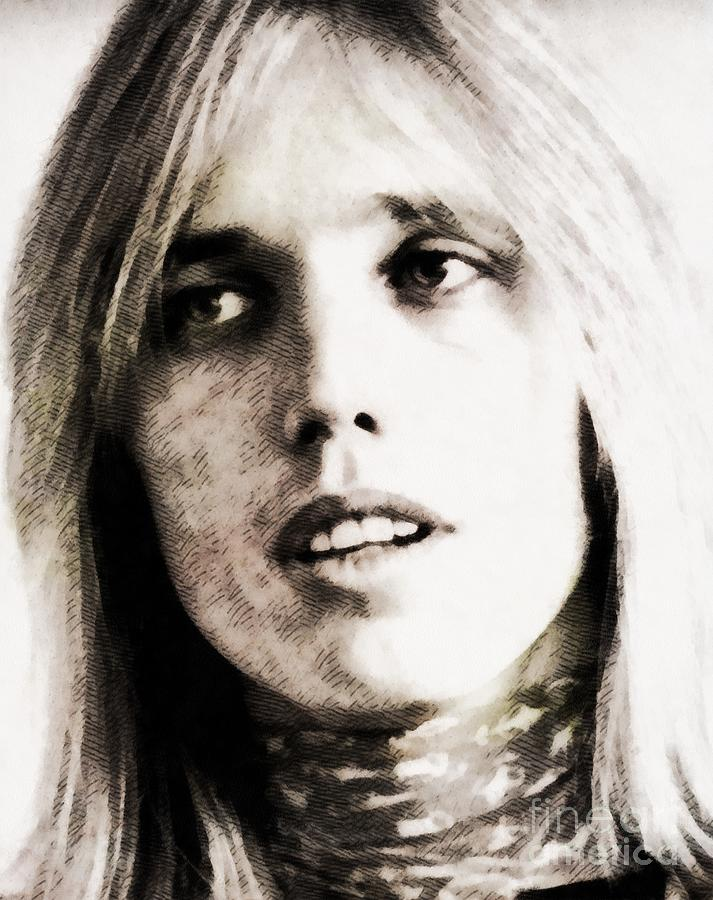 Tom Petty, Music Legend Painting