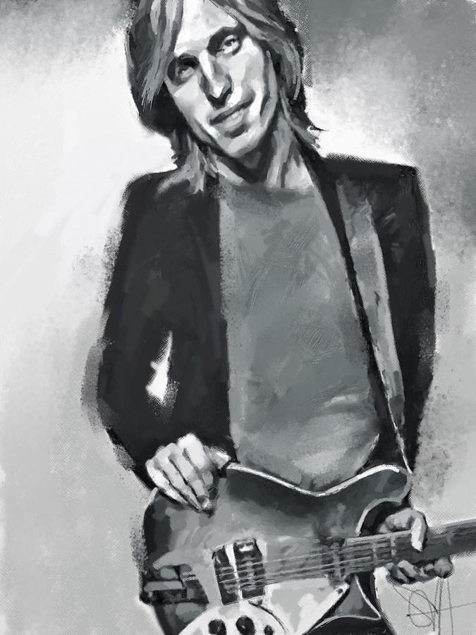 Tom Digital Art by Scott Waters