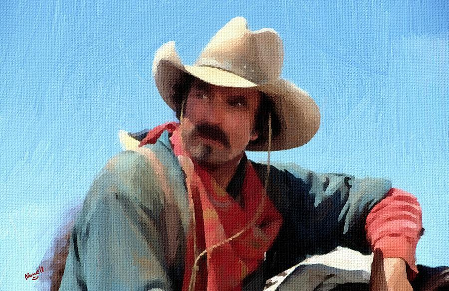 1d59dc0d5a397 Tom Selleck Quigley Down Under Oil Painting Painting by Peter Nowell