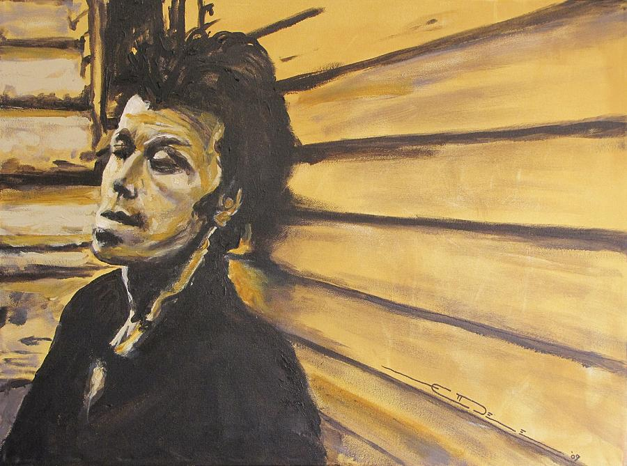 Tom Waits Painting - Tom Waits by Eric Dee
