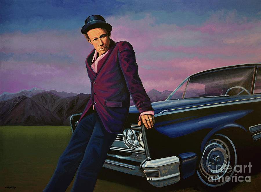 Tom Waits Painting - Tom Waits by Paul Meijering