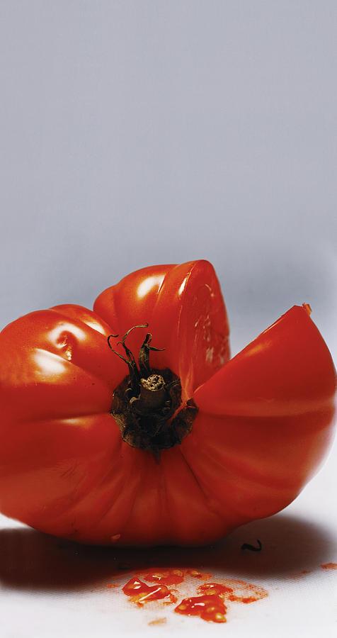 Tomato Photograph by Romulo Yanes