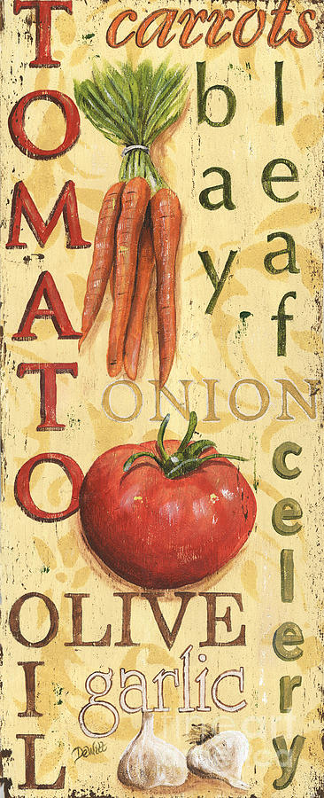 Kitchen Painting - Tomato Soup by Debbie DeWitt