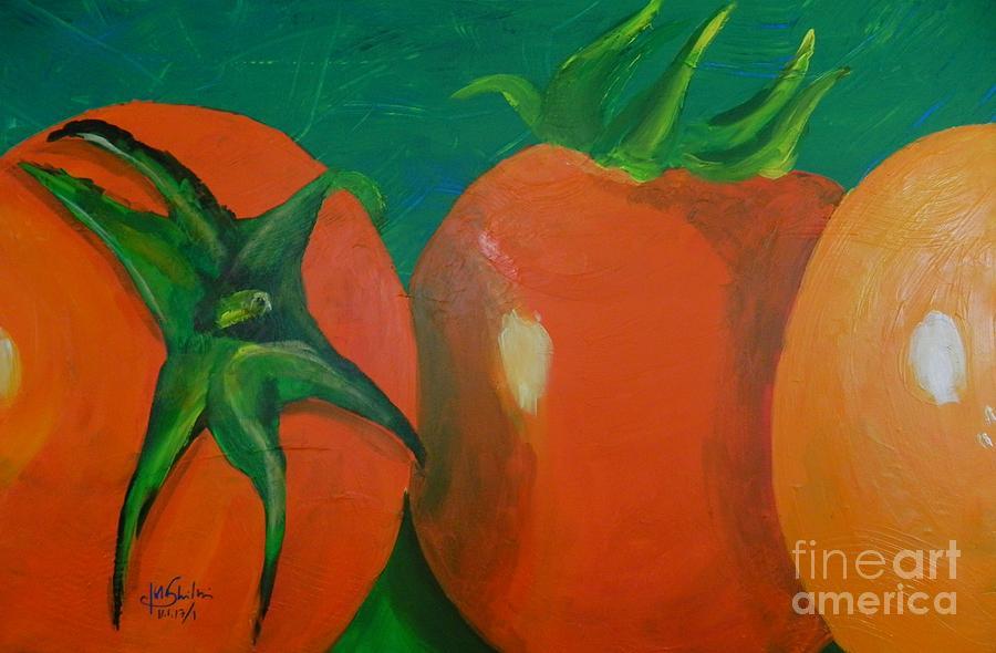 tomatoes by Jolanta Shiloni