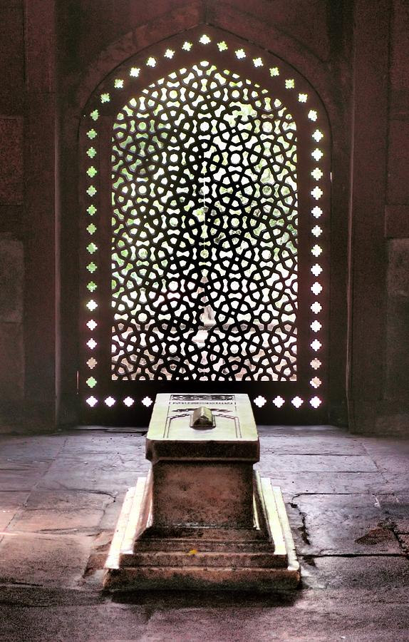 New Delhi Photograph - Tomb At The Humayun Temple Complex by Kirk Dearden